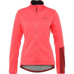 Gore Wear THERMO  Kurtka Softshell hibiscus pink/chestnut red. Czerwone kurtki damskie softshell marki Gore Wear, z materiału, wspinaczkowe. Za 719,00 zł.