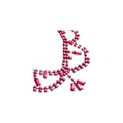 Naszyjnik klasyczny we wzory, z koralikamizestaw. Szare naszyjniki damskie TXM. Za 0,99 zł.