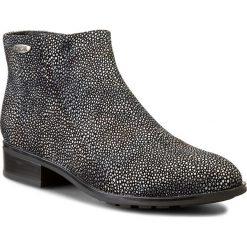 Botki BIG STAR - V274135 Grey. Czarne buty zimowe damskie BIG STAR, ze skóry ekologicznej, retro, na obcasie. W wyprzedaży za 169,00 zł.