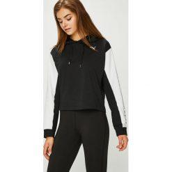 Puma - Bluza. Czarne bluzy z kapturem damskie Puma, l, z bawełny. Za 249,90 zł.