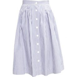 Spódniczki: Louche TANISH STRIPE Spódnica trapezowa blue/white