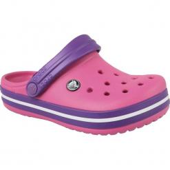 Buty dziecięce Crocband różowe r. 33-34. Czerwone buciki niemowlęce marki Crocs. Za 121,89 zł.