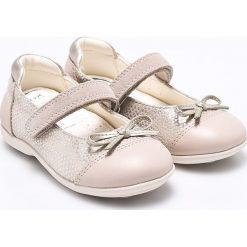 Geox - Baleriny dziecięce. Szare baleriny dziewczęce marki Geox, z gumy. W wyprzedaży za 199,90 zł.