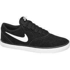 Buty męskie Nike Sb Check Solar NIKE czarne. Czarne buty skate męskie Nike, z gumy. Za 259,90 zł.