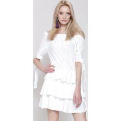 Sukienki: Biała Sukienka Close To Magic