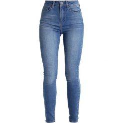 Un Jean ZOE Jeans Skinny Fit blue haze. Niebieskie boyfriendy damskie Un Jean. W wyprzedaży za 237,30 zł.