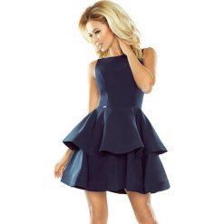 Sukienki hiszpanki: MAGDA Sukienka rozkloszowana – GRANATOWA