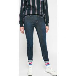 Tommy Hilfiger - Jeansy Lauren. Niebieskie rurki damskie marki TOMMY HILFIGER, z bawełny. W wyprzedaży za 299,90 zł.
