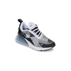 Buty Dziecko Nike  AIR MAX 270 KNIT JACQUARD GRADE SCHOOL. Czarne trampki chłopięce Nike. Za 529,00 zł.