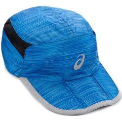 Czapka męska ASICS - Running Cap 114690 8060 56CM Niebieski. Niebieskie czapki z daszkiem męskie Asics, z materiału. Za 89,00 zł.