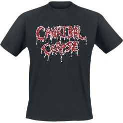 Cannibal Corpse Classic Logo T-Shirt czarny. Czarne t-shirty męskie Cannibal Corpse, l. Za 74,90 zł.