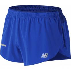 New Balance MS81260PC. Niebieskie spodenki sportowe męskie marki New Balance, l, z materiału. W wyprzedaży za 119,99 zł.