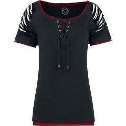 RED by EMP Come And Stay With Me Koszulka damska czarny. Czarne bluzki asymetryczne RED by EMP, l, z okrągłym kołnierzem, z krótkim rękawem. Za 94,90 zł.