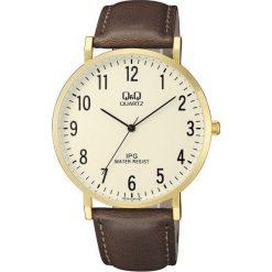 Zegarek Q&Q Męski QZ02-103 Klasyczny Slim. Białe zegarki męskie Q&Q. Za 83,80 zł.