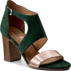 Rzymianki damskie: Sandały ANN MEX - 8000 13W+02SRD Zielony