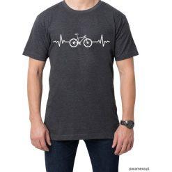 Koszulka T-SHIRT EKG MTB. Czarne t-shirty męskie z nadrukiem marki Pakamera, m, z kapturem. Za 75,00 zł.