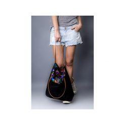 Torba black fol 3a4389. Czarne torebki klasyczne damskie drops, z bawełny, małe. Za 95,00 zł.