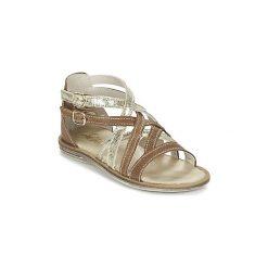 Sandały Dziecko  Citrouille et Compagnie  GAFOTA. Brązowe sandały dziewczęce Citrouille et Compagnie. Za 143,20 zł.