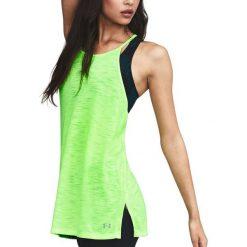 Bluzki damskie: Under Armour Koszulka damska Threadborne Fashion Tank zielona r. M (1300283-752)