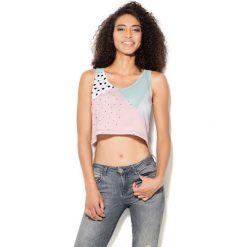 Colour Pleasure Koszulka damska CP-035 28 różowo-miętowa r. XXXL-XXXXL. T-shirty damskie Colour pleasure. Za 64,14 zł.