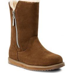 Buty EMU AUSTRALIA - Gravelly W11561 Oak. Brązowe buty zimowe damskie EMU Australia, ze skóry, na niskim obcasie. Za 809,00 zł.
