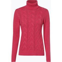 März - Sweter damski, czerwony. Brązowe golfy damskie marki Alma en Pena, z materiału, na obcasie. Za 589,95 zł.