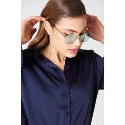 Le Specs Okulary przeciwsłoneczne Neptune - Gold. Brązowe okulary przeciwsłoneczne damskie aviatory Le Specs. W wyprzedaży za 121,58 zł.