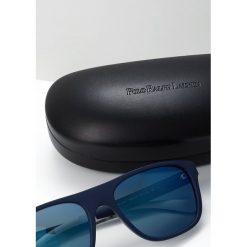 Polo Ralph Lauren Okulary przeciwsłoneczne blue mirror blue. Niebieskie okulary przeciwsłoneczne męskie aviatory Polo Ralph Lauren. Za 529,00 zł.