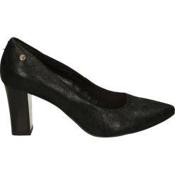 Czółenka - 5319 894 NERO. Czarne buty ślubne damskie Venezia, ze skóry. Za 199,00 zł.