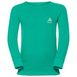 Odlo Koszulka juniorska WARM KIDS zielona r. 140 (10459). Czarne t-shirty chłopięce marki Odlo. Za 88,88 zł.