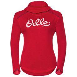Odlo Koszulka tech. Odlo Shirt l/s with Facemask KATHARINA WARM   - 530011 - 530011/30344/S. Czerwone bluzki damskie marki Odlo, l. Za 196,12 zł.