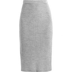 Spódniczki ołówkowe: Cortefiel MIDI SKIRT Spódnica ołówkowa  grey