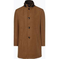 Andrew James - Płaszcz męski, beżowy. Brązowe płaszcze na zamek męskie marki Andrew James, m, ze skóry. Za 649,95 zł.