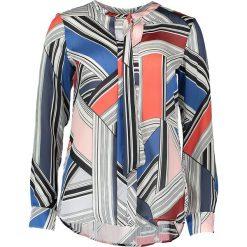 Topy sportowe damskie: Bluzka – Comfort fit – w kolorze niebiesko-szarym