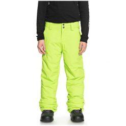 Quiksilver Chłopięce Spodnie Estate Pt B 158/164 Zielony. Zielone spodnie chłopięce Quiksilver, na zimę. Za 395,00 zł.