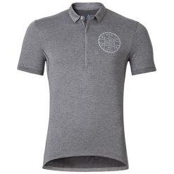 Odlo Koszulka męska Polo shirt s/s CLASSIC r.L  (410932). Szare koszulki polo marki Odlo. Za 195,83 zł.