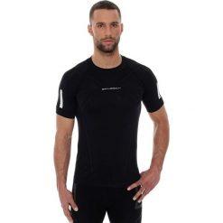 Brubeck Koszulka męska ATHLETIC z krótkim rękawem czarny r. XL (SS11090). Czarne koszulki sportowe męskie marki Brubeck, m. Za 109,99 zł.