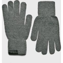 Trussardi Jeans - Rękawiczki. Szare rękawiczki męskie Trussardi Jeans, z dzianiny. Za 149,90 zł.