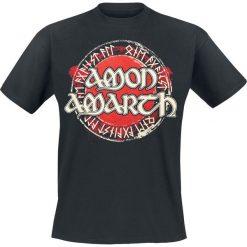 Amon Amarth One Against All T-Shirt czarny. Czarne t-shirty męskie Amon Amarth, m, z nadrukiem, z dekoltem na plecach. Za 89,90 zł.