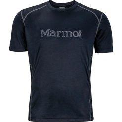 T-shirty męskie: Marmot Koszulka Windridge with Graphic SS czarna r. XL (54300-1418)