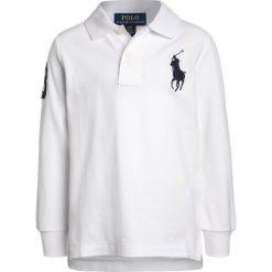 Polo Ralph Lauren BIG Koszulka polo white. Białe t-shirty chłopięce Polo Ralph Lauren, z bawełny. Za 319,00 zł.