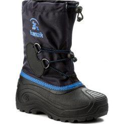 Buty zimowe chłopięce: Śniegowce KAMIK – Southpole4 NK4727  Navy