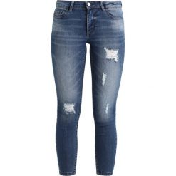 Boyfriendy damskie: JDY JDYSKINNY LOW MAGIC DESTROY ANKLE Jeans Skinny Fit light blue denim