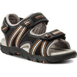 Buty dziecięce: Sandały GEOX – J S.Strada A J4224A 0CE14 C0038 M Black/Orange