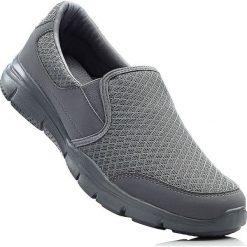 Buty skate męskie: Buty wsuwane bonprix szary