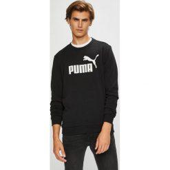 Puma - Bluza. Czarne bluzy męskie rozpinane marki Puma, l, z nadrukiem, z bawełny, bez kaptura. W wyprzedaży za 169,90 zł.
