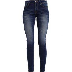 Lee JODEE Jeans Skinny Fit blue indigo. Niebieskie jeansy damskie marki Lee, z bawełny. W wyprzedaży za 237,30 zł.