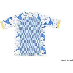 Odzież chłopięca: T-shirt plażowo-kąpielowy dla dziecka UPF 50+