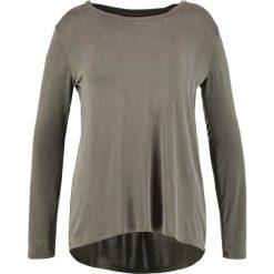 Bluzki asymetryczne: Majestic Bluzka z długim rękawem olive