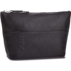 Kosmetyczka CALVIN KLEIN - Dual Carry All K60K604486 001. Czarne kosmetyczki męskie marki Calvin Klein, ze skóry ekologicznej. Za 179,00 zł.